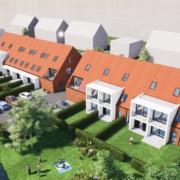 3D visualisatie vervangingsbouwproject MASTERPLAN NB4: Lintsesteenweg te Duffel